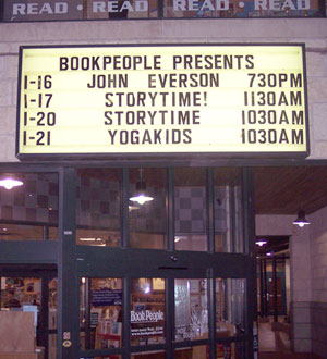 BookPeople Marquee