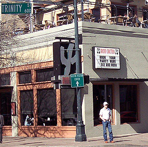 Street view of The Iron Cactus in Austin, TX