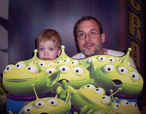 John, Shaun and the Aliens
