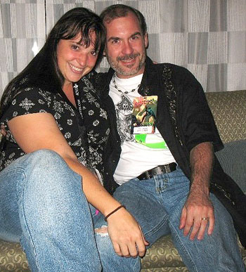 Alethea Kontis and John Everson at Dragon*Con 2008