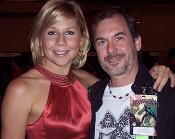 Gigi Edgley and John Everson