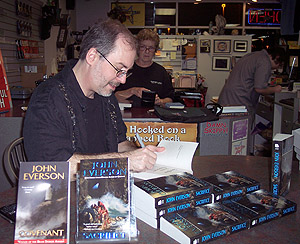 John Everson Signing at Mysterious Galaxy Books in San Diego.