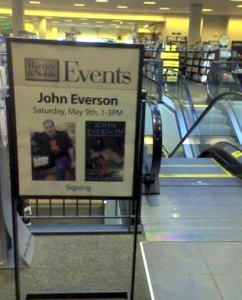 Sign at Oakbrook B&N