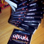 Stack of OFIARA (Sacrifice) from Poland's Replika Books