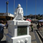 Valparaiso, Chile - Christopher Columbus statue