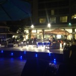 Sheraton Pool - night