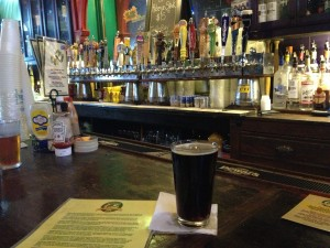 A NOLA Brown Ale at Turtle Bay on Decatur