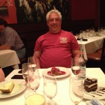 Jerry Chandler considers dessert