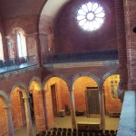 The Chapel (note the brick difference - original roof was bombed off in WWII)