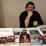 W. D. Gagliani at the signing table.