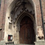 Frauenkirche - side doorway
