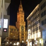 Glockenspiel Tower at night