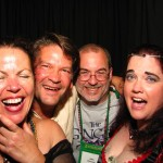 Photobooth with Dana Fredsti, David Fitzgerald, John Everson and Tammy Lindsley