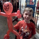 Shaun with Spider-Man