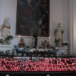 Theatinerkirche - vigil candles