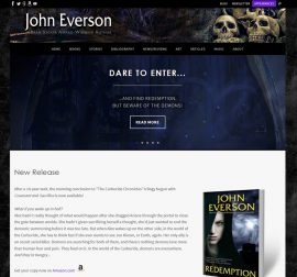 JohnEverson.com Mach 2018 Homepage