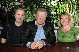 John Everson, William Shatner, Geri Everson
