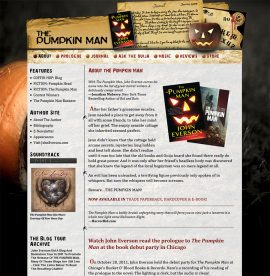 The Pumpkin Man website