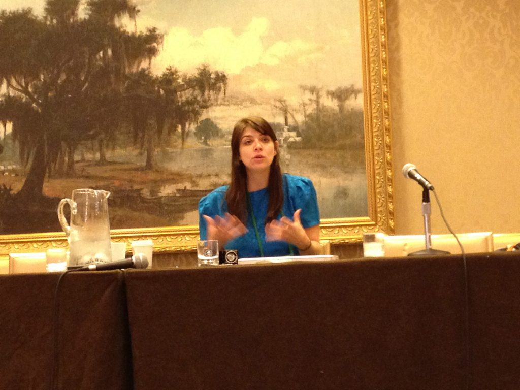 Amber Benson at World Horror Convention 2013