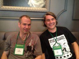 John Urbancik and Chad Hensley
