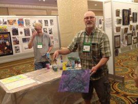 Alan Clark - accidental art at World Horror Convention 2013