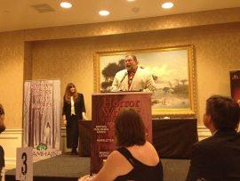 Jonathan Maberry at the 2013 Bram Stoker Award Ceremony
