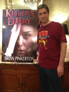 Brian Pinkerton at World Horror Convention 2013