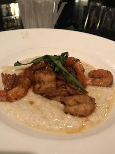 Shrimp and Grits at Nola, New Orleans