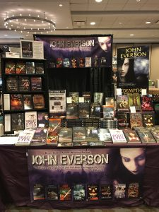 John Everson booth at Flashback Weekend