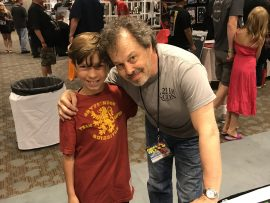 Shaun Everson and Curtis Armstrong - Flashback Weekend 2017