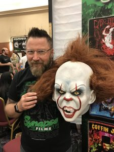 Jarrod Littleton at HorrorHound Weekend 2017.