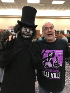 John Everson at HorrorHound Weekend 2017.