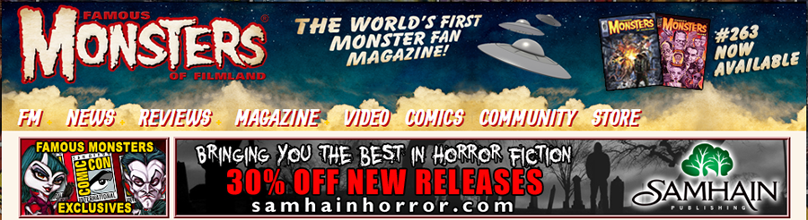 Famous Monsters of Filmland banner