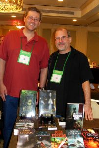 Don D'Auria and John Everson at World Horror Convention 2013