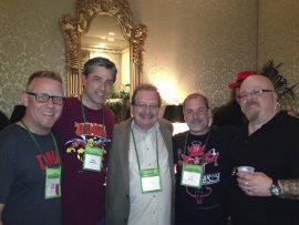 Sam Weller, Brian Pinkerton, Mort Castle, John Everson, Chad Savage at World Horror Convention 2013