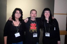 Giovanna Lagana, John Everson, and Louise Bohmer.