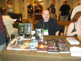John Everson at World Horror Convention 2013