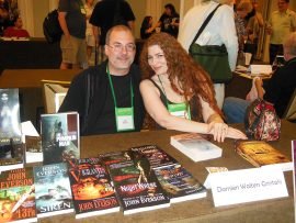 John Everson and Damien Walters Grintalis at World Horror Convention 2013