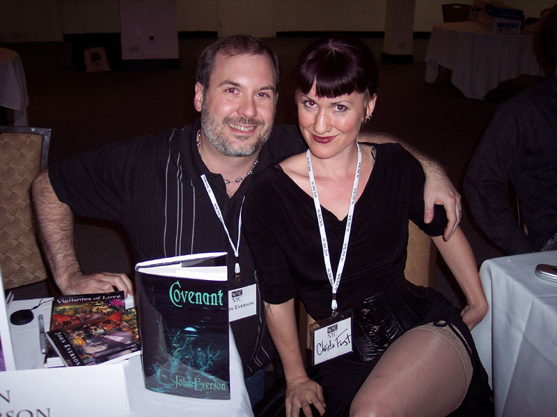 John Everson and Christa Faust
