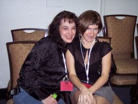 Coquettes in Black: Nicole Thomas and Teri Jacobs