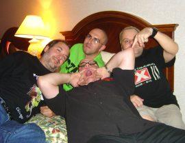 John Everson, Brian Keene, Chad Savage and David Barnett