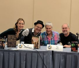 Genese Davis, Jay Bonansinga, Tim Lees and John Everson - Wizard World Chicago Comic Con 2017