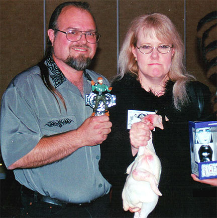 Charlee Jacob, World Horror Convention 2002