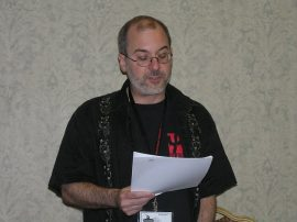 John Everson live reading at World Horror Convention 2011