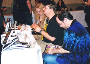 John Everson, John Weagly and Tina Jens