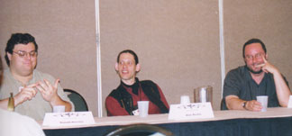 Ron Horsley, Alan Beatts and Gary Braunbeck.
