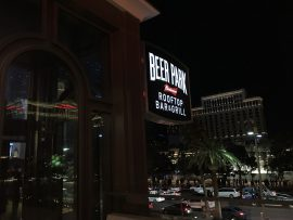 Beer Park sign, Las Vegas