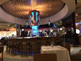 Emeril's center bar, Las Vegas