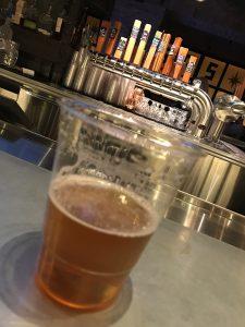 A Citra Rye Ale at Beerhaus, Las Vegas