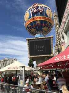 Outside the Paris, Las Vegas